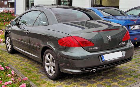 peugeot 307 cc file peugeot 307 cc facelift 20090620 rear jpg wikimedia
