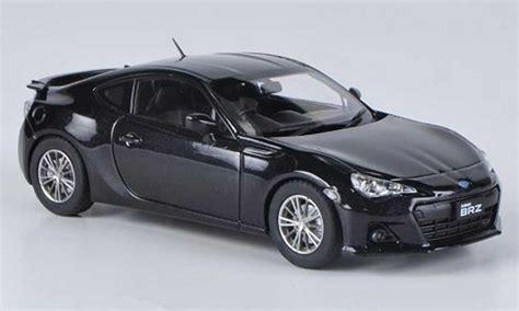 subaru brz black rhd  ebbro diecast model car