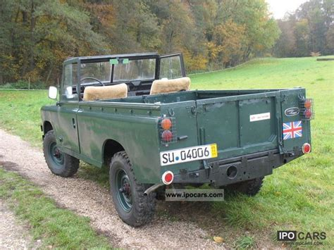 land rover series 3 off road 1978 land rover series ii a car photo and specs