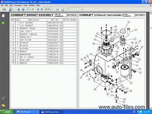 Combilift Forklift  Spare Parts Catalog  Repair Manual Download  Wiring Diagram  Electronic