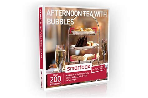smartbox cuisine afternoon tea with bubbles smartbox by buyagift from