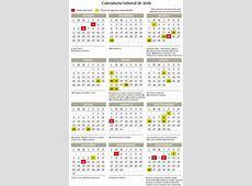 El BOE publica el calendario laboral oficial con ocho