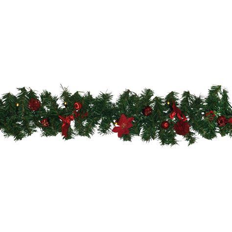 girlande weihnachten beleuchtet led deko girlande beleuchtete weihnachtsgirlande mit dekoration 250 cm dekoartikel