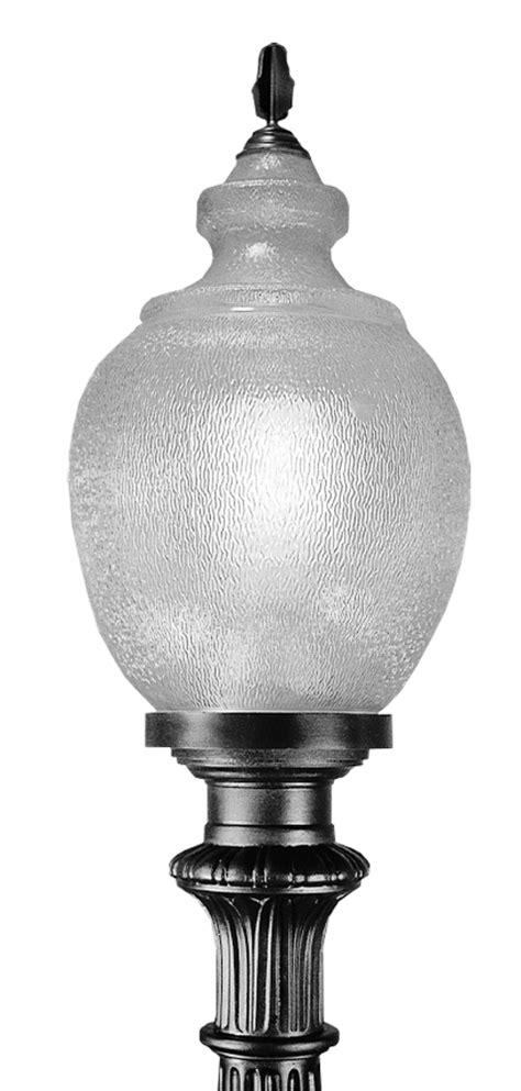 Decorative Street Lamp Post by Al25 Led Al25 Led Post Top Acorn Luminaire