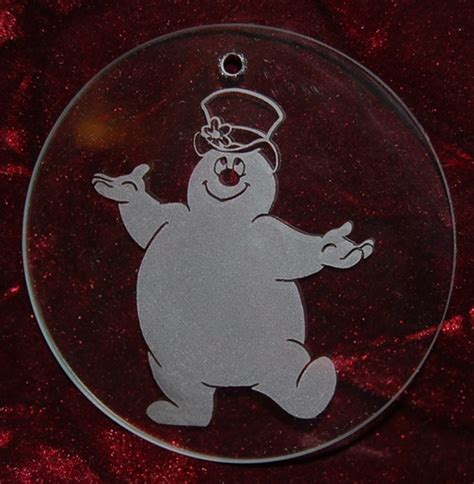 personalized engraved glass christmas ornaments