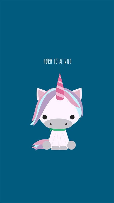 horn   wild cute unicorn iphone  wallpaper hd