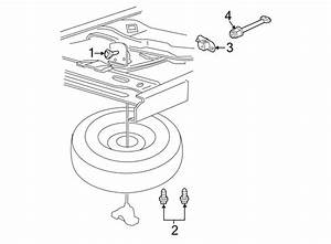 Yl5z1a480aa - Ford Spare Tire Hoist  Lift Assembly