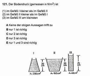 Wichte Berechnen : druck bodendruck von drei gef en vergleichen nanolounge ~ Themetempest.com Abrechnung