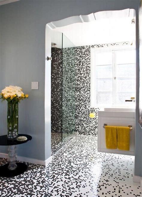 white master bathroom ideas pixilated bathroom design made with mosaic bathroom tiles