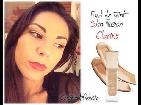 nuovo fondotinta make up my base make up routine skin illusion foundation clarins