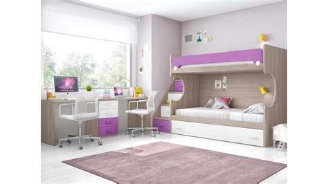 lit superpose avec bureau lit superposé enfant avec bureau et lit gigogne glicerio