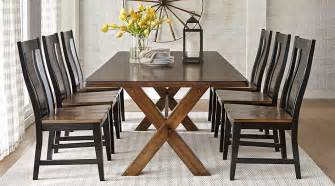 5 dining room sets lakes brown 5 pc 84 in rectangle dining room dining room sets wood