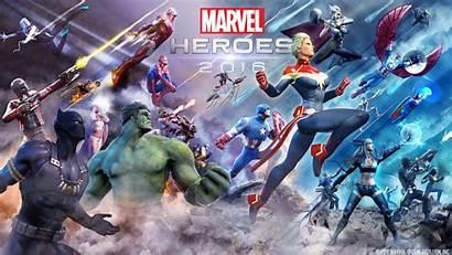Marvel Heroes Wallpapers Games 4k Backgrounds Artist