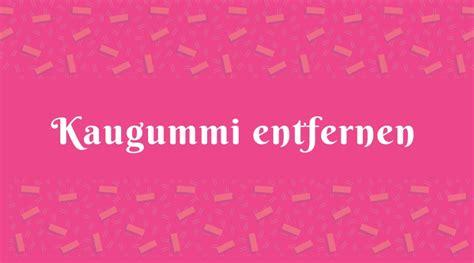 Kaugummi Entfernen Kleidung by Kaugummi Entfernen Dein Ratgeber De