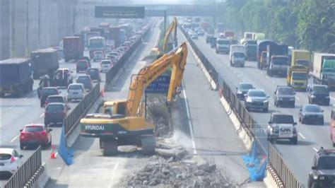 proyek jalan tol jakarta cikampek elevated youtube