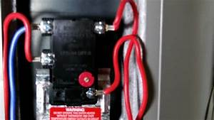 Rheem Temp Setting  U0026 Reset Button
