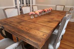 barnwood table With barnwood kitchen table for sale