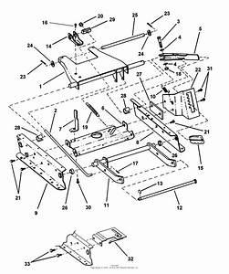 Snapper M280917b 28 U0026quot  9 Hp Rear Engine Rider  U0026quot M U0026quot  Series 17  84249  Parts Diagram For Rails  Lift