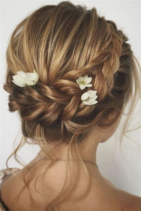 wedding bridesmaid hairstyles  short hairs oosile