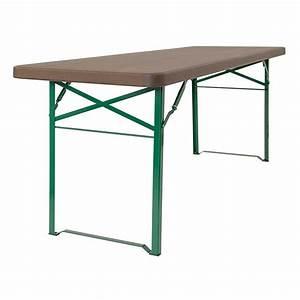 Pied De Table Pliant : vente table de kermesse pliante pour 8 10 personnes doublet ~ Teatrodelosmanantiales.com Idées de Décoration