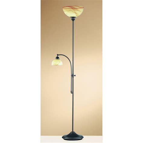 Tall Table Lamps Walmart by Wofi Floor Lamp And Reading Lamp In Rust Finish Next Day