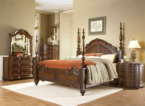 prenzo traditional design poster bedroom furniture set