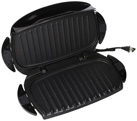 George Foreman 6 Serving Removable Nonstick Plate Countertop Grill by George Foreman 5 Serving Removable Plate Next Grilleration