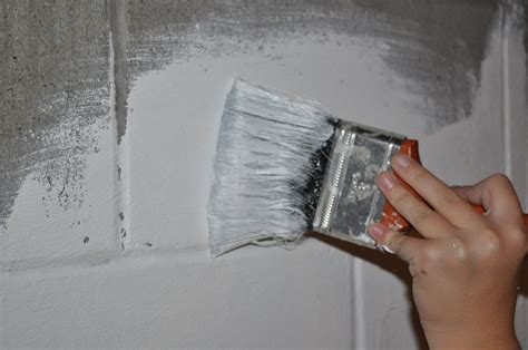 Painting Your Home Concrete Foundation   How To Build A House