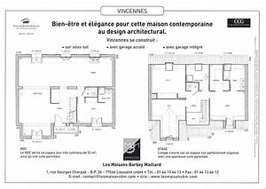 Maison Architecte Plan : plan d 39 architecte de maison pdf ~ Dode.kayakingforconservation.com Idées de Décoration
