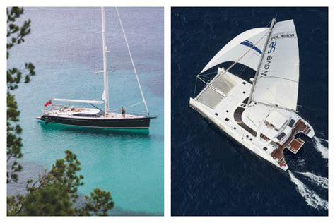 Catamaran Vs Boat catamarans vs monohulls on charter boats
