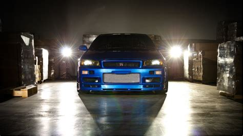 blue nissan skyline fast and furious nissan nissan gt r skyline r34 fast and furious fast and