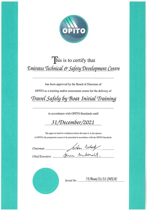 certification courses welcome to emirates technical safety development centre