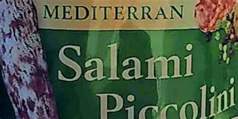 bakterienbefall salmonellen aldi nord ruft mini salami