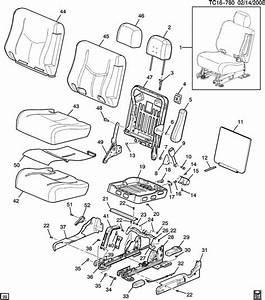 2005 Chevrolet Suburban Latch  Seat  Latch  R  Seat Bk Filler  Pewter   Latchrseat