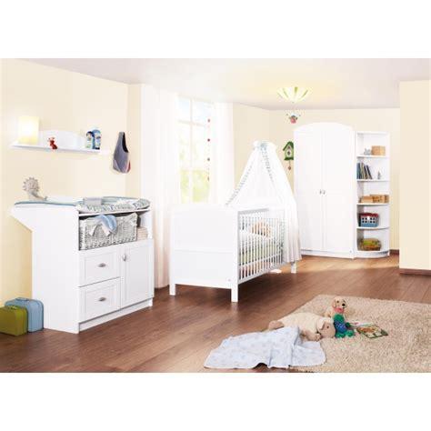 chambre bébé bio chambre bébé 3 pièces blanc pinolino natiloo com