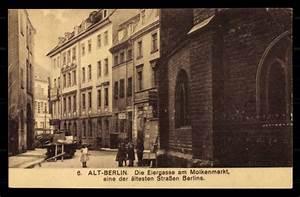 Küchenbuffet Alt Berlin : ansichtskarte postkarte berlin alt berlin eiergasse molkenmarkt kinder ~ Indierocktalk.com Haus und Dekorationen