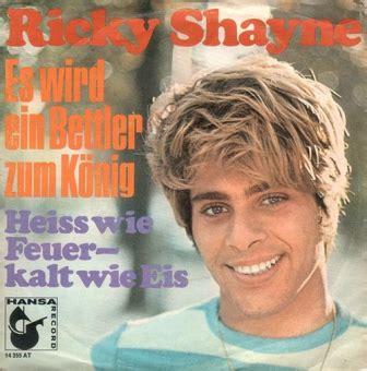 Vinyl Shop  Ricky Shayne  Es Wird Ein Bettler Zum König