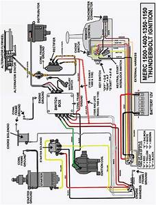 1974 Mercruiser Wiring Diagram Mercruiser Engine Diagram  Wiring Diagram