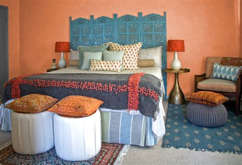 Interiors Modern Indian Master Bedroom San Mateo, Ca