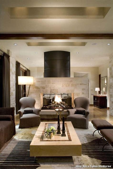 idee deco salon moderne with classique salon d 233 coration