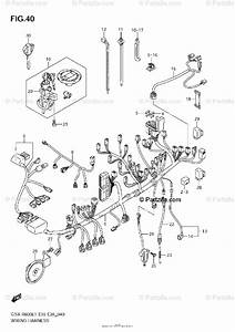 Suzuki Motorcycle 2011 Oem Parts Diagram For Wiring
