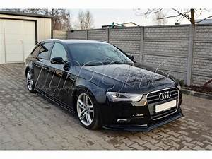Audi A4 Tuning : audi a4 b8 8k facelift master front bumper extension ~ Louise-bijoux.com Idées de Décoration