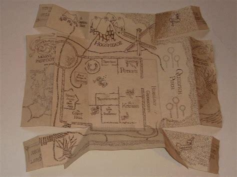 marauders map  piece  map art creation  ciara