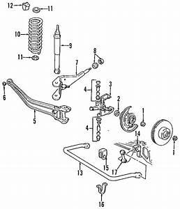 Mazda B2300 Suspension Stabilizer Bar Bushing  Components