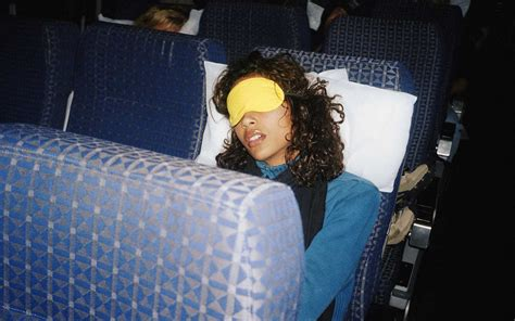 restful sleep   plane travel