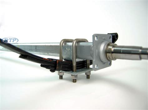 Boat Trailer Kits Galvanized by Galvanized Boat Trailer Axle 3500 V Bend With Brake Flange