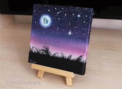 Painting Miniature Easy Try Paisajes Mini Acrylics