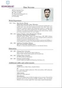 new styles of resumes resume format 2016 resume format trends