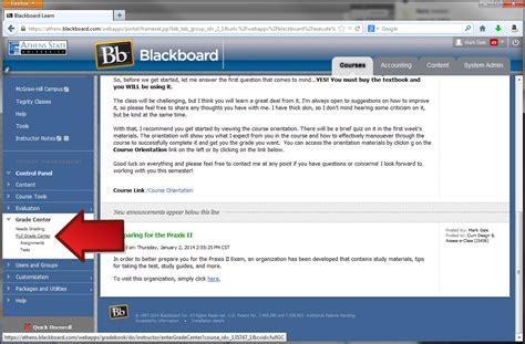 blackboard help desk blackboard learn retrieving the qep rubric results