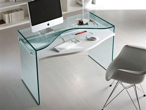 glass home office desk glass desk office design free reference for home and